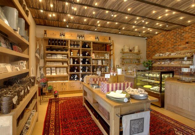 Inside the La Motte Farm Shop. Photo supplied.