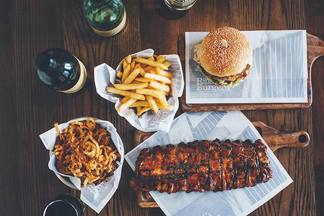 Ribs-&-Burgers-ribs-and-burger