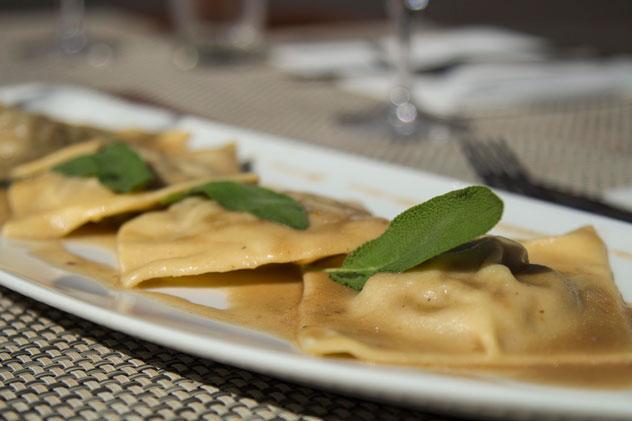Sage-ravioli