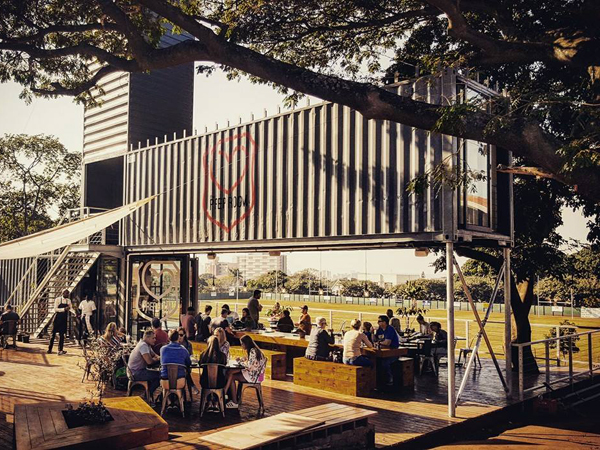 Family-friendly eatery opens in shipping container in Glenwood, Durban