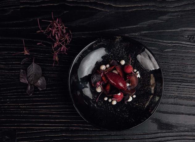 A dramatic dish at Urbanologi. Photo supplied.