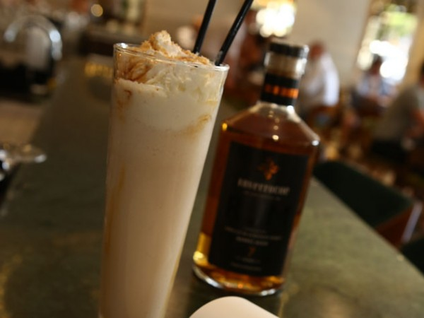 A boozy shake at Fourteen on Chartwell. Photo supplied.