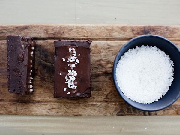 The dark chocolate and salt brownie at Yummi. Photo supplied.