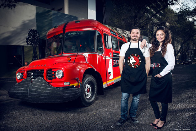 Balkan Burger Food Truck. Photo supplied.