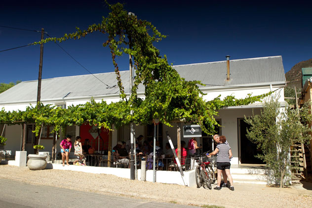 The entrance to Beans About Coffee in Riebeek Kasteel. Photo supplied.