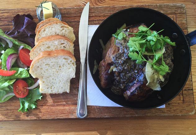 The glorious steak pan. Photo by Irna van Zyl.