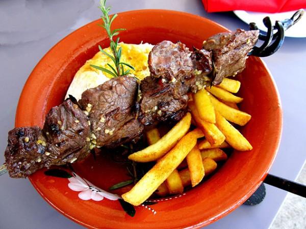 The espetada at Café Goa. Photo supplied.