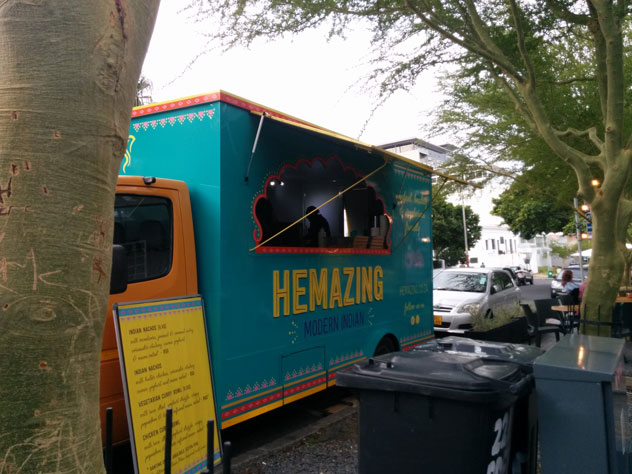 Parked. Hemazing Food Truck. Photo supplied.