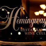 Hemingways wine cellar logo
