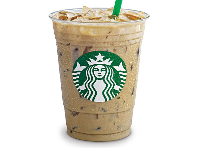 A Starbucks Iced Latte. Photo supplied.