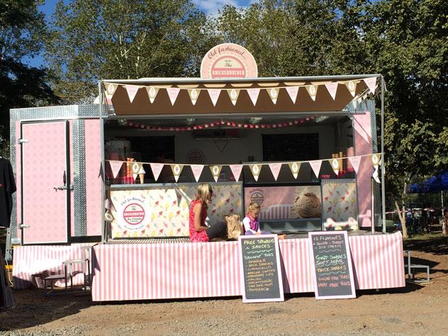 Knickerbocker Ice Cream Truck. Photo supplied.