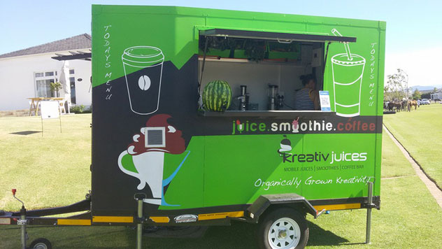 Kreativ Juices Truck. Photo supplied.