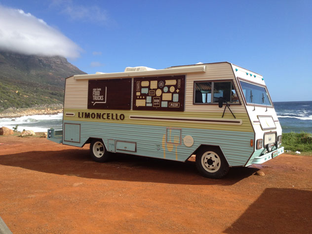 Limoncello Food Truck. Photo supplied.