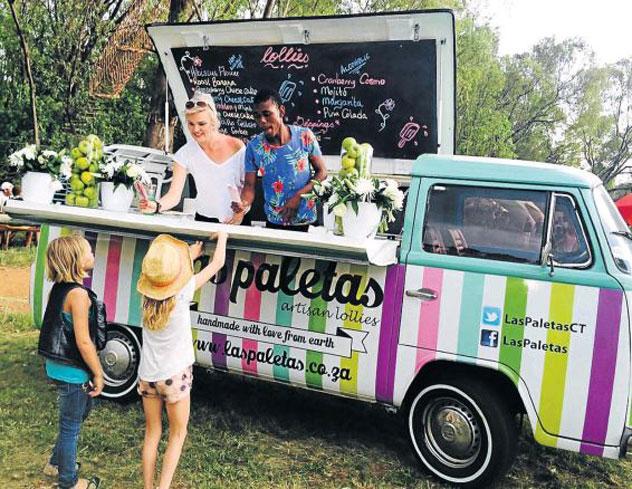 Las Paletas van. Photo supplied.