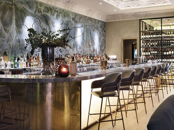 The beautiful bar at Marble. Photo supplied.