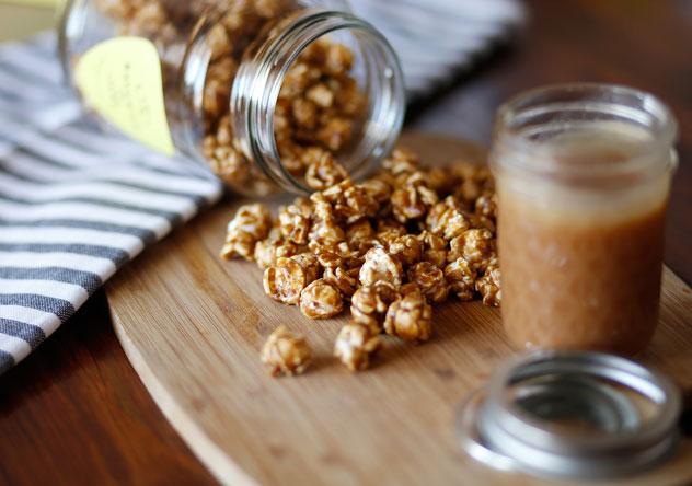 Maverick and Jane's caramel popcorn. Photo supplied.