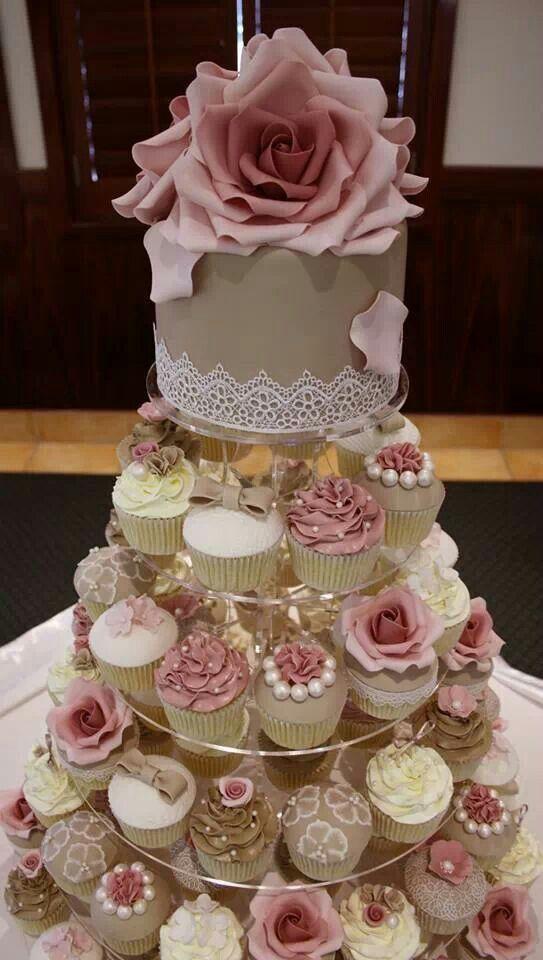 Cupcake Wedding Cakes North West