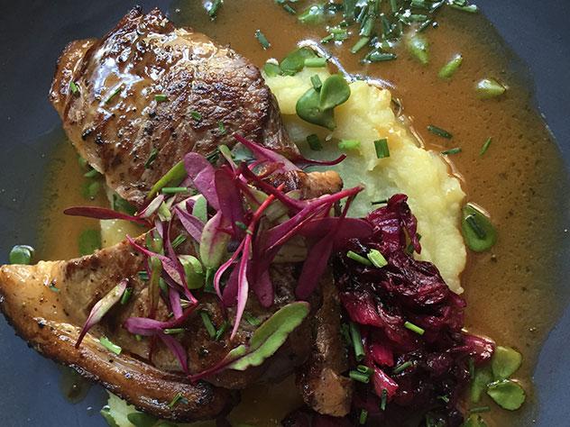 The magnificent steak. Photo by Irna van Zyl.