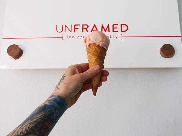 Unframed Ice Cream