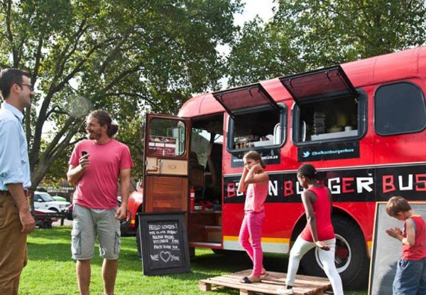 The Balkan Burgers food truck parked in the Joburg sun. Photo supplied.