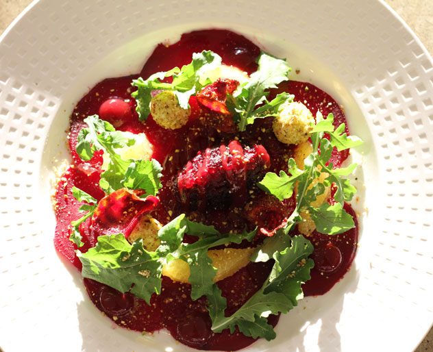 The carpaccio dishes are packed with flavour. Photo supplied.