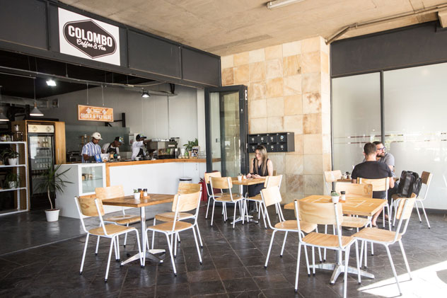Colombo Coffee's new home in Durban North. Photo supplied.