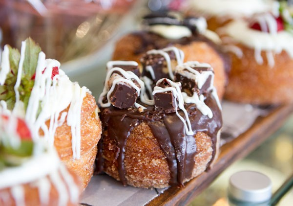 A decadent cronut from Remo's Villagio. Photo supplied.