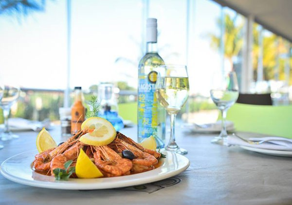 A plate of prawns at Beira Alta. Photo supplied.