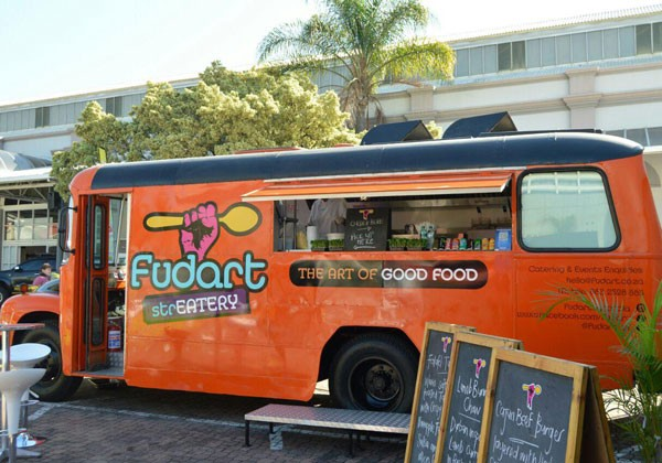 The Fudart Streatery truck. Photo supplied.