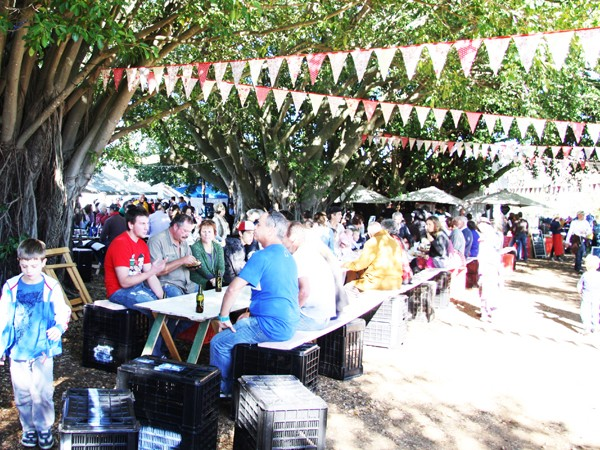 A sunny day at The Blaauwklippen Family Market. Photo supplied.