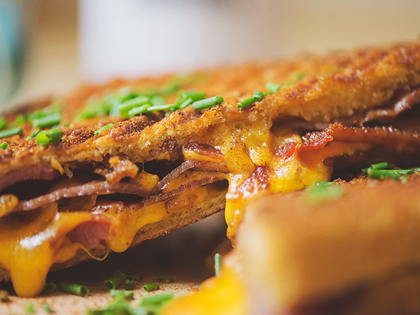Our personal favourite? The smokey Joe with cheddar, paprika, and Richard Bosman bacon. Photo by Claire Gunn.
