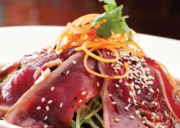 A sushi salad at Beluga. Photo supplied.