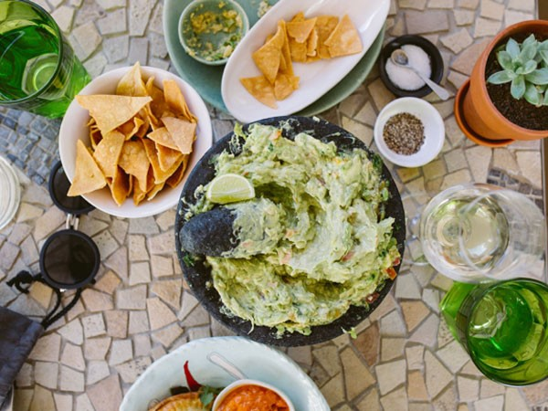 The guacamole at Cosecha in Paarl. Photo supplied.