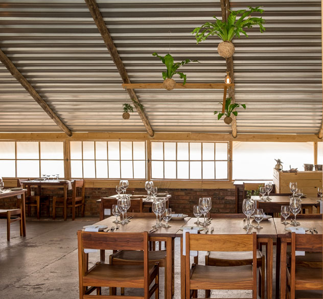 The simple yet elegant interior of Fermier. Photo supplied.