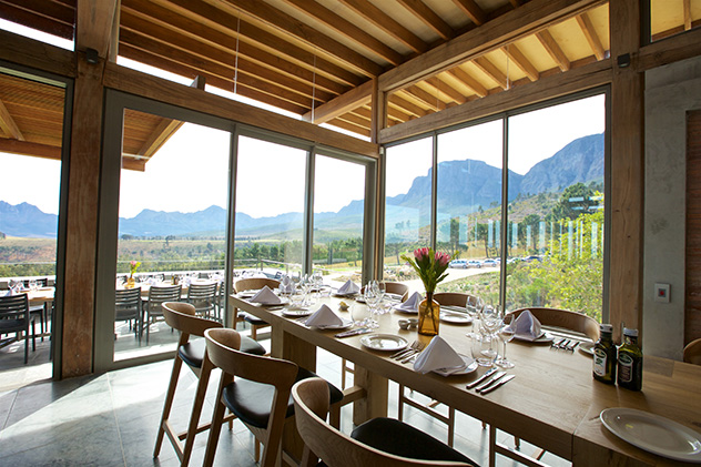 Glass walls make the most of panoramic views. Photo supplied.