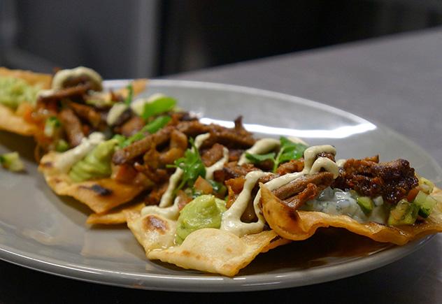 Kan 10's nachos. Photo supplied.