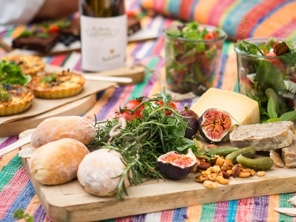 A picnic spread at Nederburg. Photo supplied.