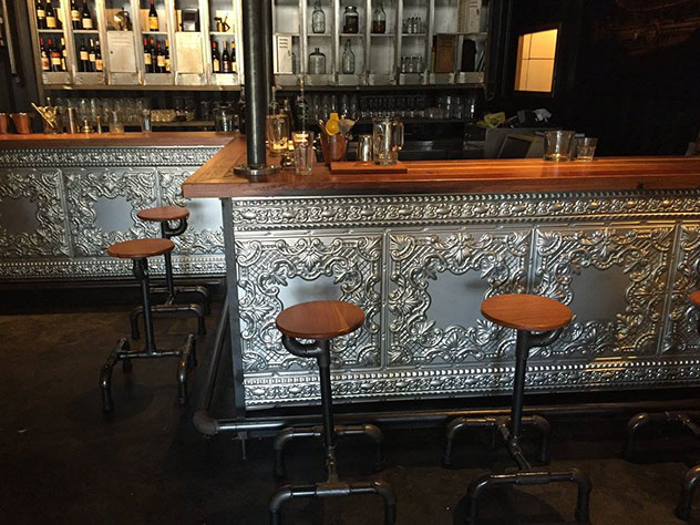 The Countess's embellished bar. Photo supplied.