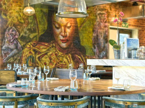 The artwork in The Chef's Table. Photo supplied.