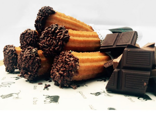 Paquito's Treatery's chocolate churros. Photo supplied.