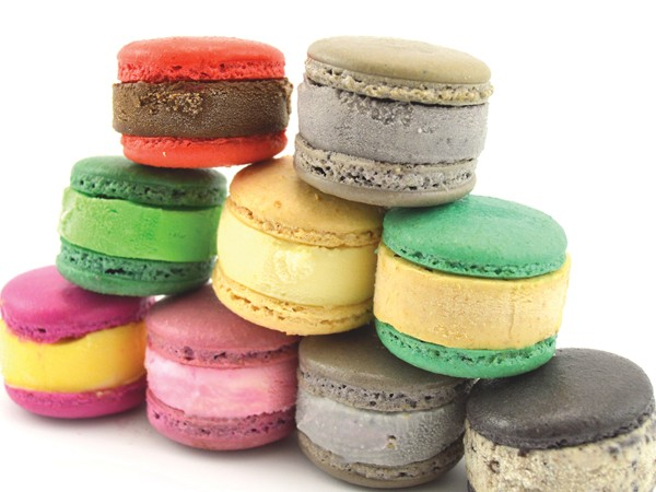 A range of ice cream macaron sandwiches by Sugarlicious. Photo supplied.