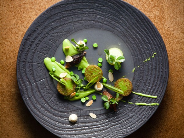 A beautifully plated dish at Rust en Vrede. Photo supplied.