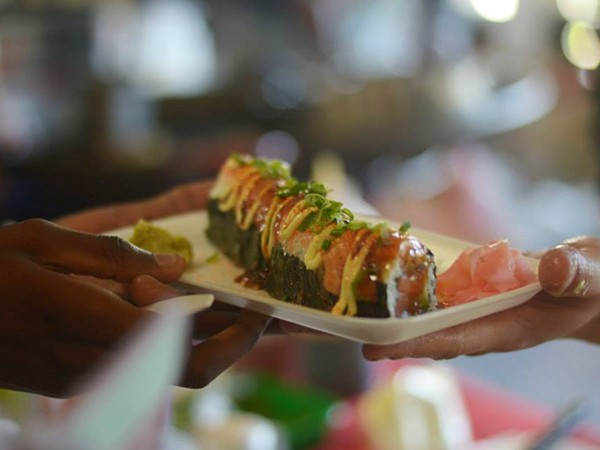Sushi at the Neighbourgoods Market in Joburg. Photo supplied.