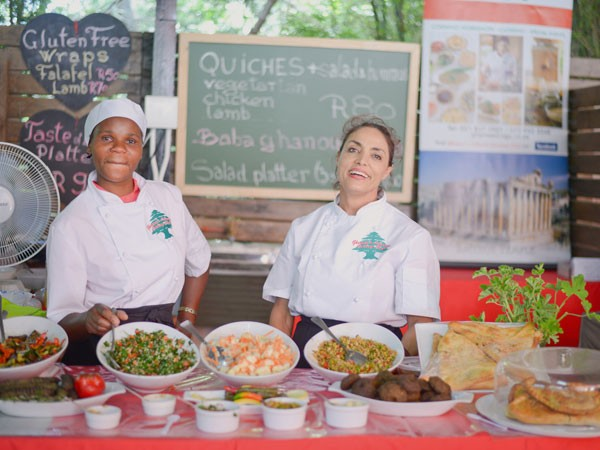 Venders at the Lourensford Harvest Market. Photo supplied.
