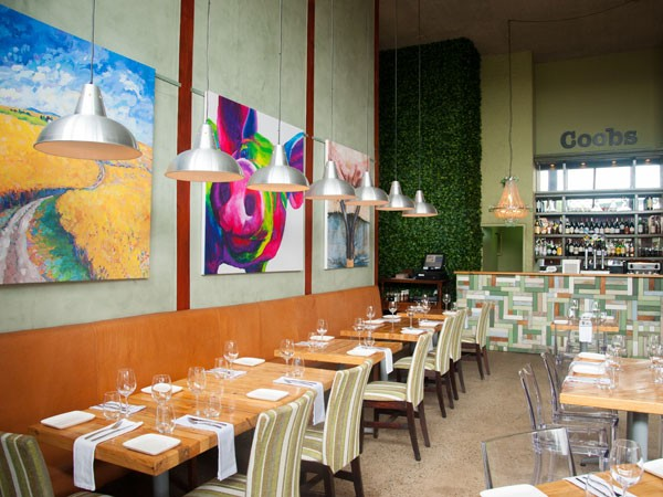 The the contemporary interior at Coobs in Parkhurst. Photo supplied.
