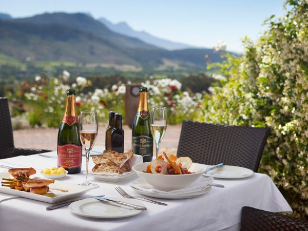 Beautiful views at Haute Cabriere Restaurant. Photo supplied.