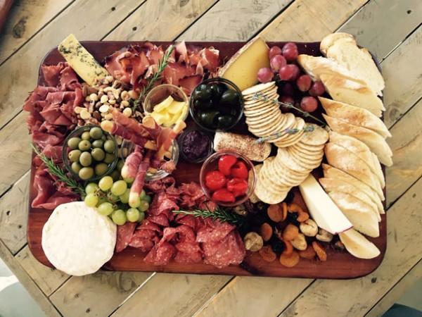 A charcuterie platter at Pont de Val. Photo supplied.