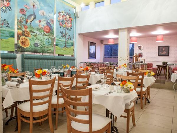 The whimsical interiors at Glenda's. Photo supplied.