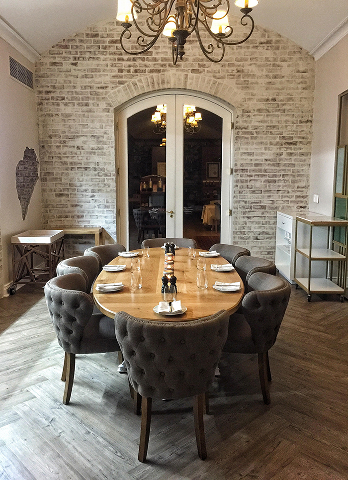 Mise en place at asara restaurant in stellenbosch eatout - Mise en place table restaurant ...