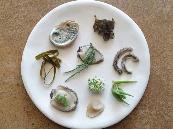 One of Chef Kobus van der Merwe's plates. Photo supplied.
